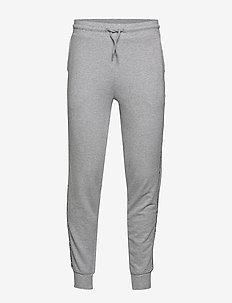 TRACK PANT HWK - light grey heather