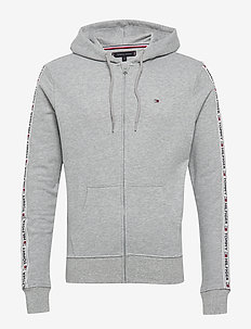 HOODY LS HWK - hoodies - light grey heather
