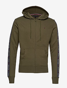HOODY LS HWK - OLIVE NIGHT