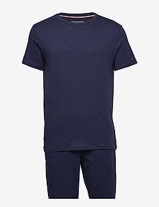 CN SET SS - piżamy - peacoat
