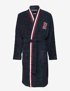 TOWELLING ROBE - NAVY BLAZER