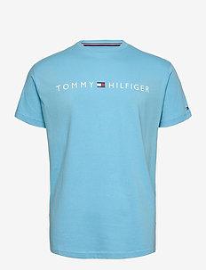 CN SS TEE LOGO FLAG - kortærmede t-shirts - blue grotto