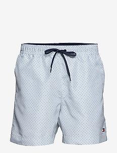 MEDIUM DRAWSTRING-PRINT - shorts de bain - hilfiger micro prt - breezy bl