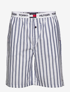 WOVEN SHORT STRIPE - bottoms - coastal fjord
