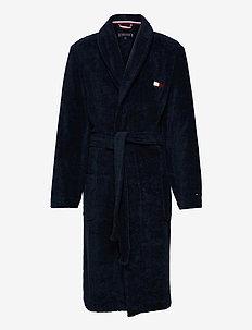 TOWELLING ROBE - morgenkåper - navy blazer