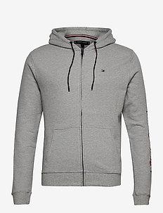 FZ HOODIE LWK - hoodies - grey heather