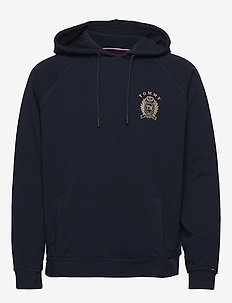 HOODIE HWK - basic sweatshirts - navy blazer