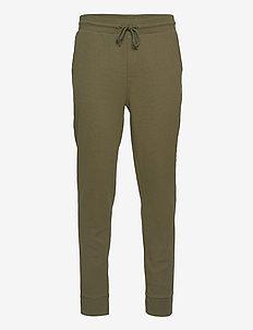 TRACK PANT RIB - underdele - army green