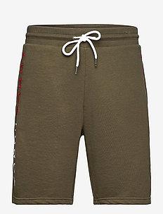 TRACK SHORT - casual shorts - army green