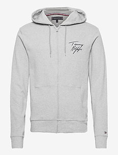 FZ HOODIE - hoodies - grey heather