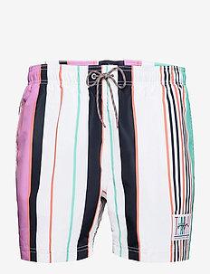 SF MEDIUM DRAWSTRING - shorts - multi stripe