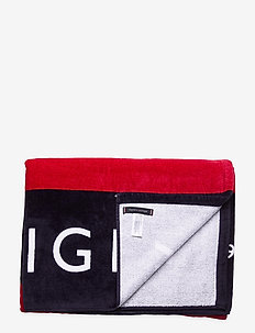 TOWEL - beach towels - tommy flag large signature
