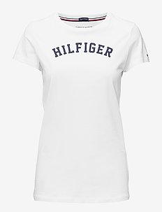 SS TEE PRINT - t-shirts met logos - white