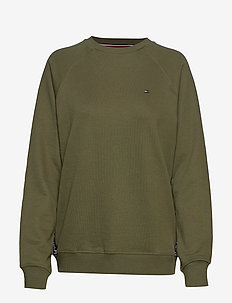 CN TOP LS HWK - OLIVE NIGHT