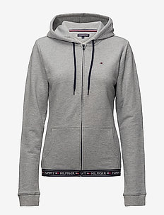 HOODY HWK - hoodies - grey heather