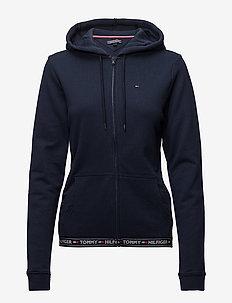 HOODY HWK - tops - navy blazer