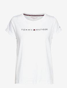 RN TEE SS LOGO - t-shirty - white