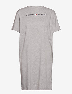 RN DRESS HALF SLEEVE - nightdresses - grey heather