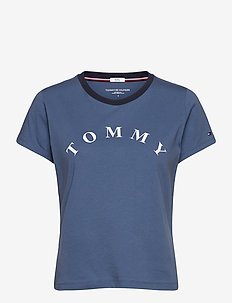 SS TEE SLOGAN - t-shirts - coastal fjord