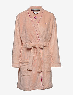 FLUFFY ROBE - PALE BLUSH