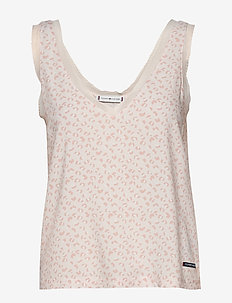 WOVEN CAMI PRINT - overdele - pale blush