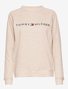 CN TRACK TOP LS - Överdelar - oatmeal heather