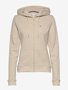 ZIP THRU HOODY LS, 6 - hoodies - oatmeal heather
