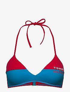 FIXED TRIANGLE RP - bikini tops - laser pink