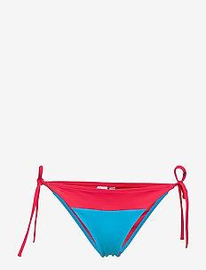 CHEEKY STRING SIDE TIE BIKINI - bikinibroekjes - laser pink 103-580