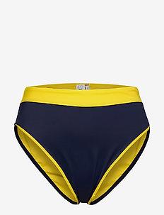 CHEEKY HIGH WAIST BI - doły strojów kąpielowych - bold yellow 215-480