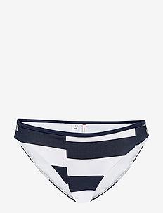 BIKINI - bikini bottoms - broken str - pitch blue