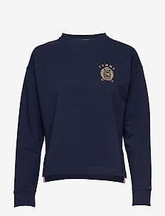 CN TOP LS HWK - tops - navy blazer