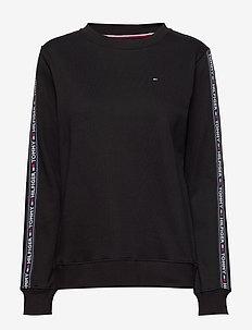 CN TOP LS HWK - overdele - pvh black