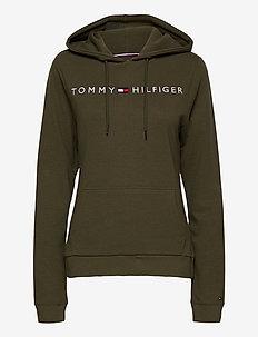 OH HOODIE RIB - hoodies - army green