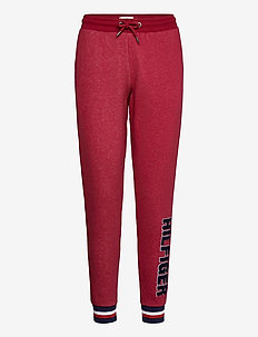 TRACK PANT - bottoms - deep rouge