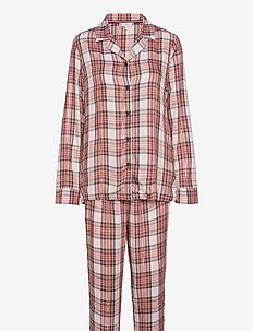 FULL WOVEN SET HOLIDAY - pyjamas - holiday lurex check