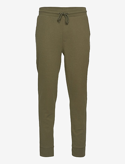 TRACK PANT RIB - sweatpants - army green
