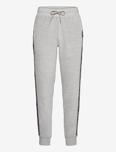 TRACK PANT - sweat pants - mid grey heather