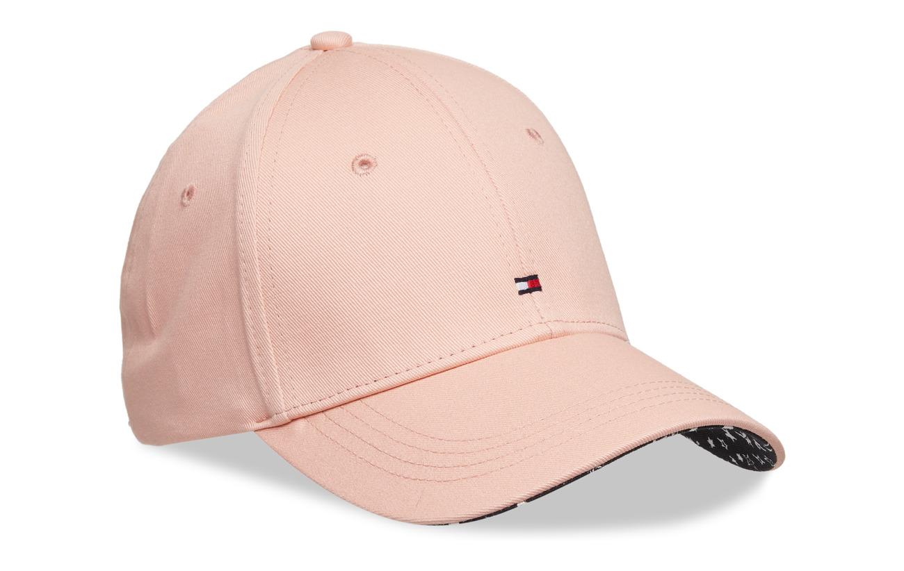 Tommy Hilfiger BB PRINT CAP - CORAL CLOUD