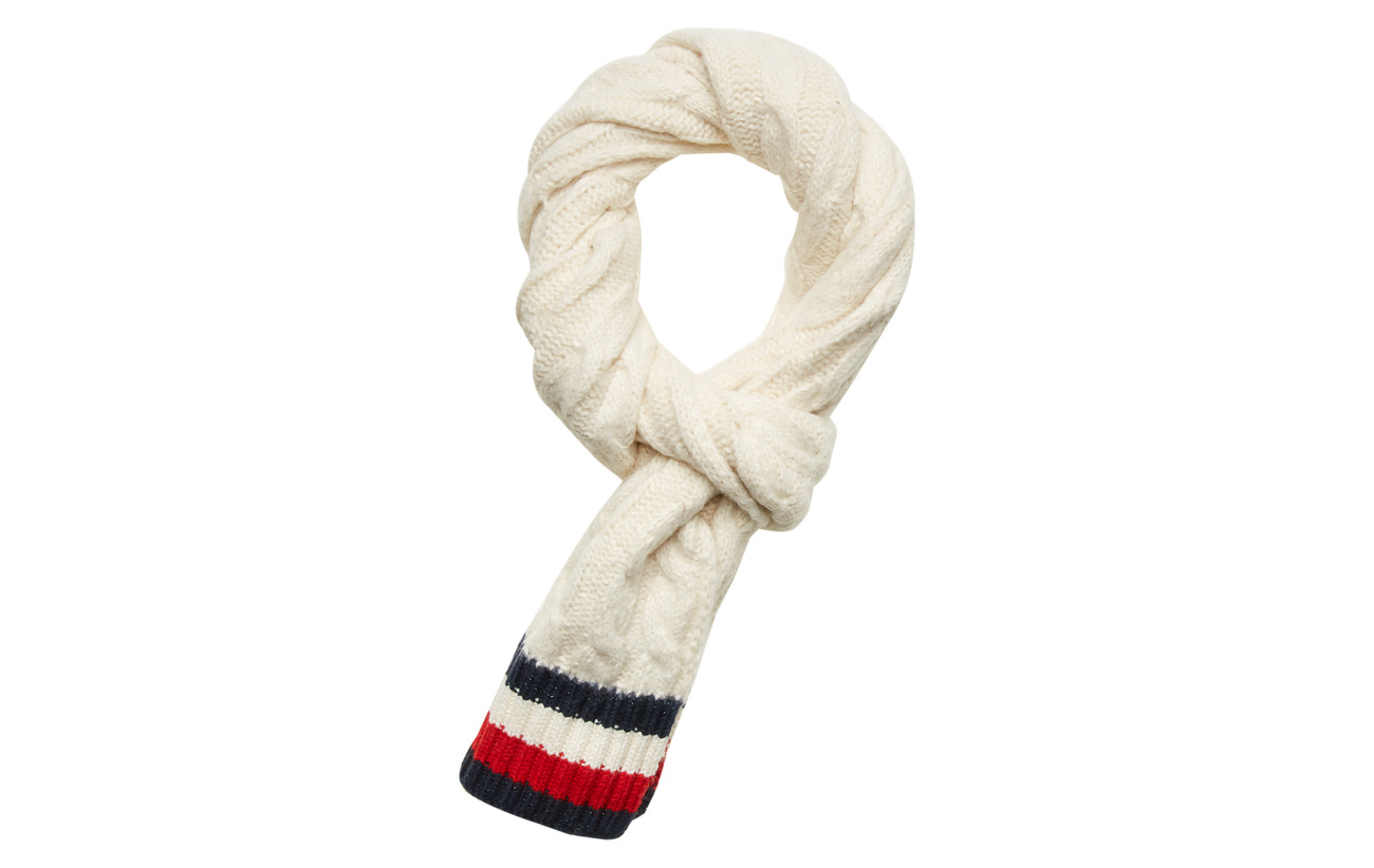 Tommy Hilfiger CABLE KNIT SCARF, TF - CORPORATE