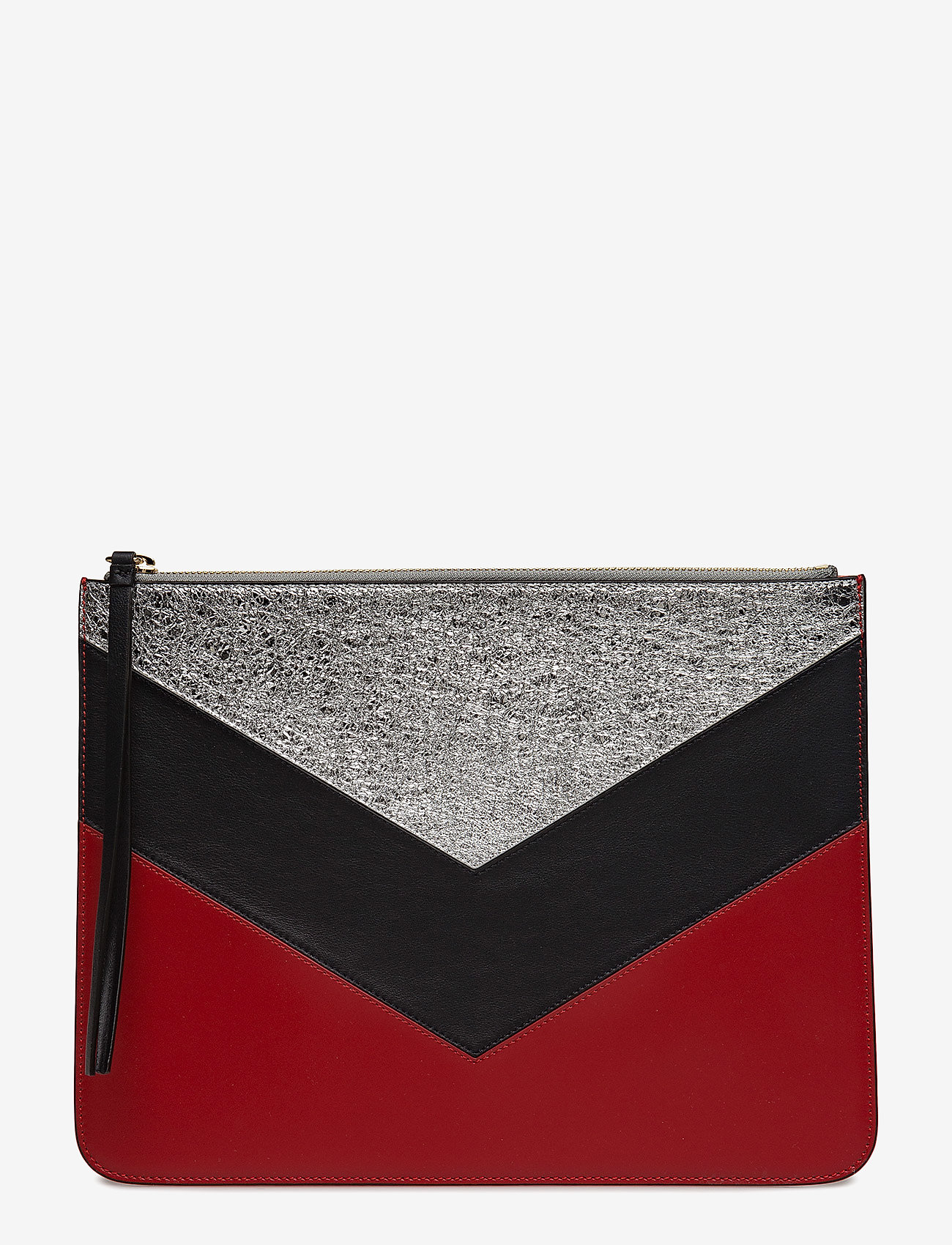 Tommy Hilfiger - CHEVRON TOMMY POUCH - clutches - peacoat / multi - 1