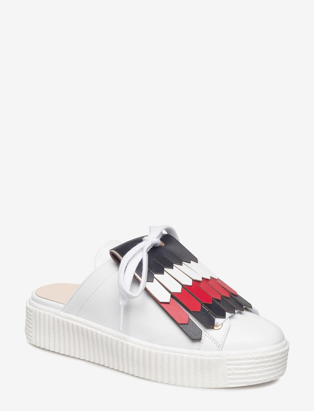 Tommy Hilfiger - CORPORATE SLIP-ON SNEAKER - slip-on sneakers - snow white - 0