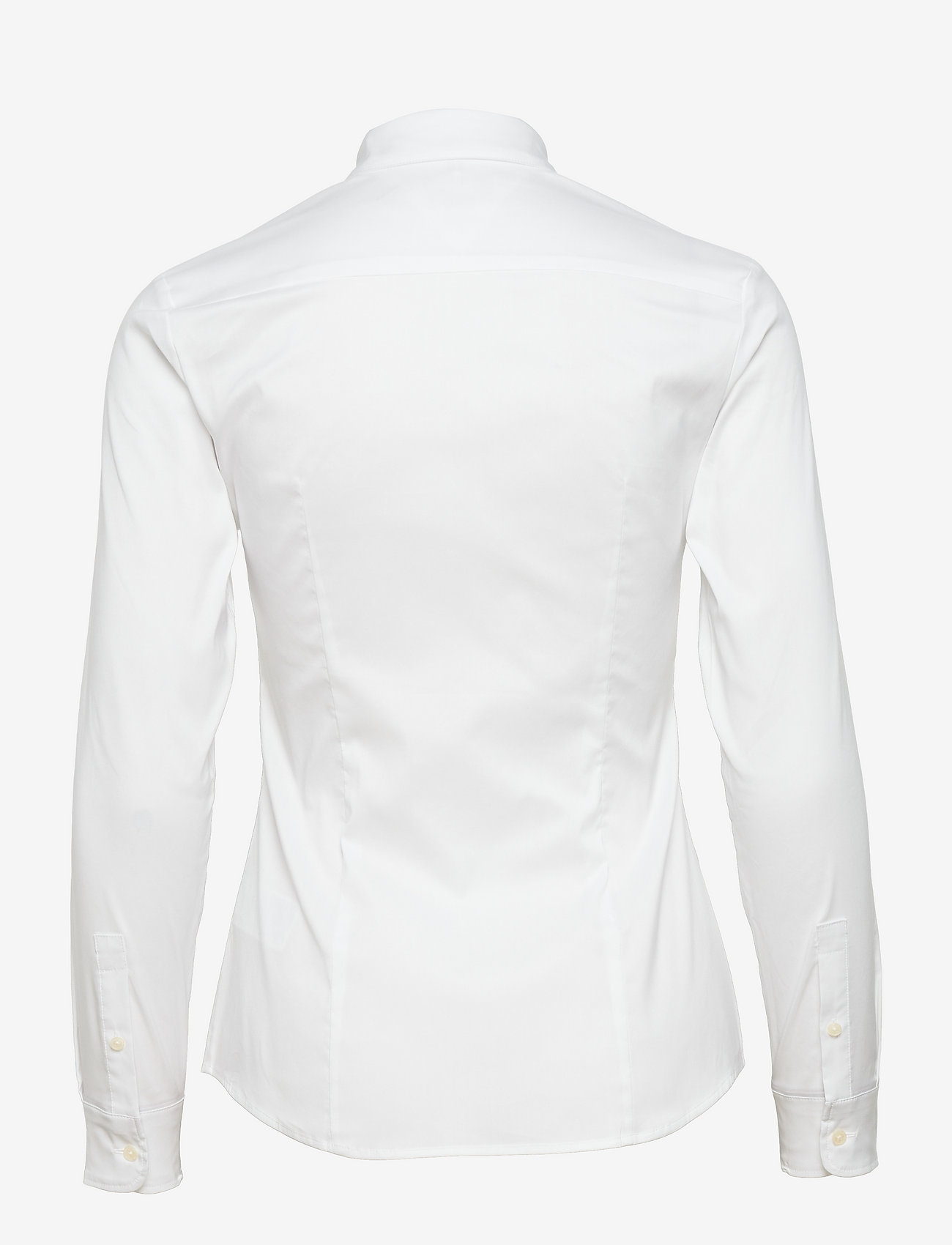 Tommy Hilfiger - AMY STR SHIRT LS W1 - long-sleeved shirts - classic white - 1