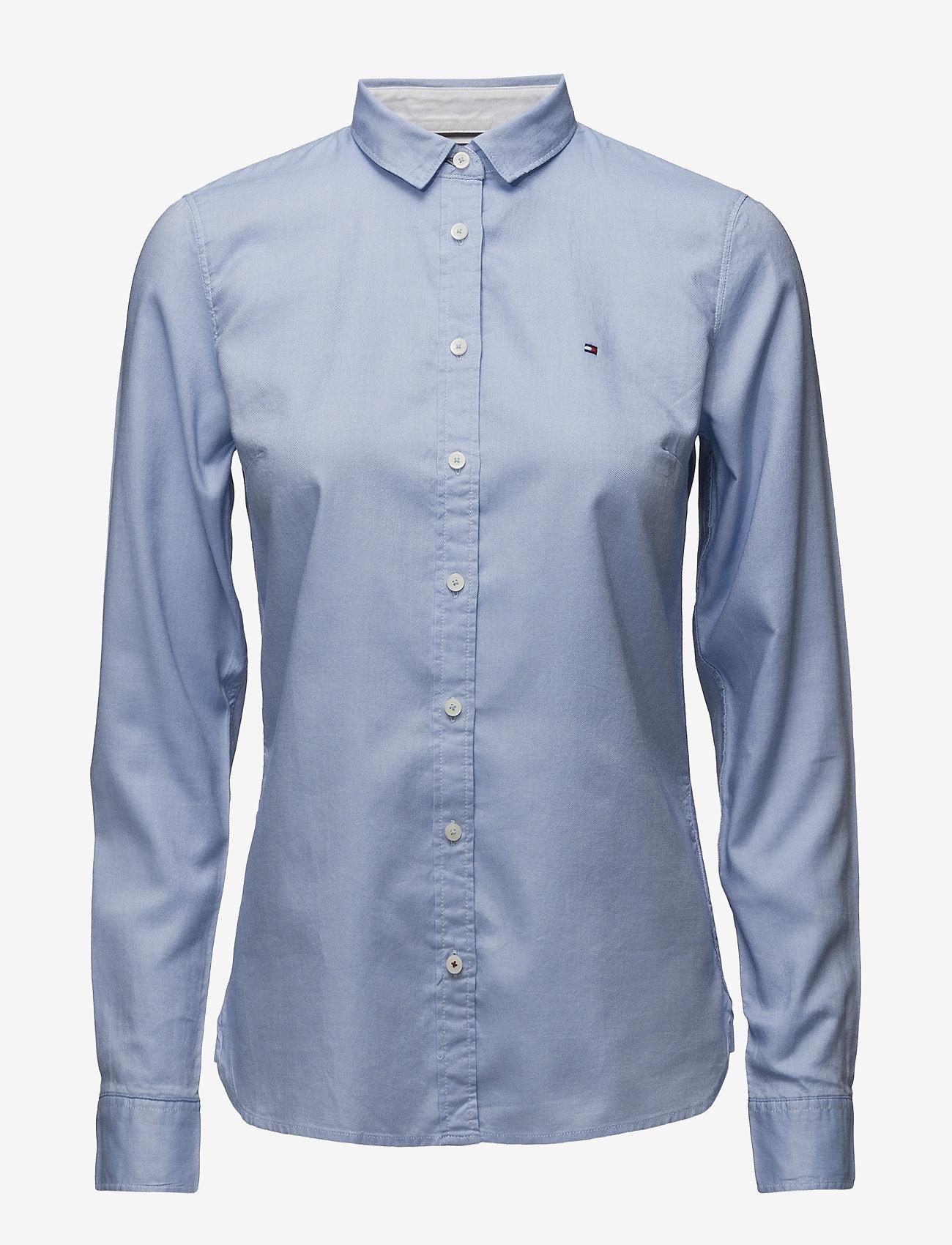 Tommy Hilfiger - HERITAGE REGULAR FIT - koszule z długimi rękawami - shirt blue - 0