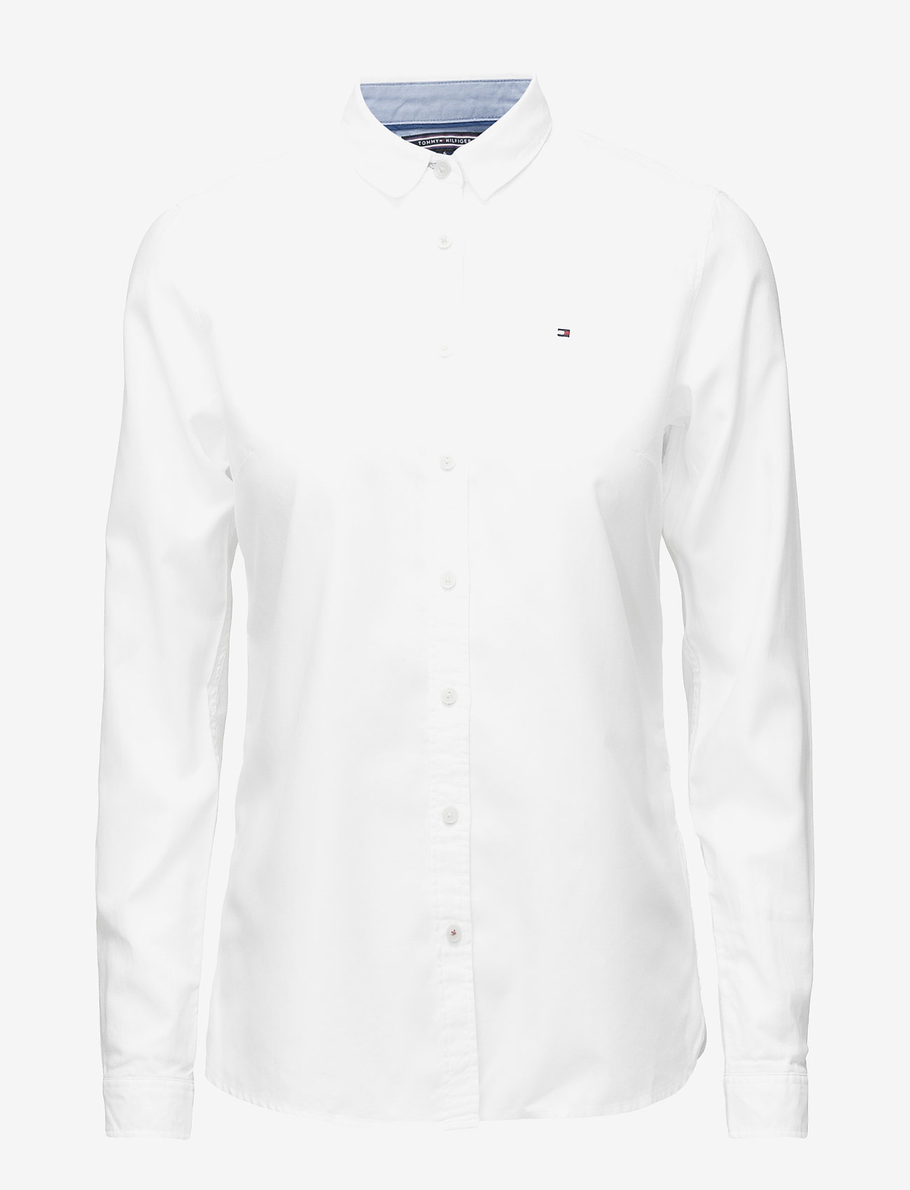 Tommy Hilfiger - HERITAGE REGULAR FIT - long-sleeved shirts - classic white - 0