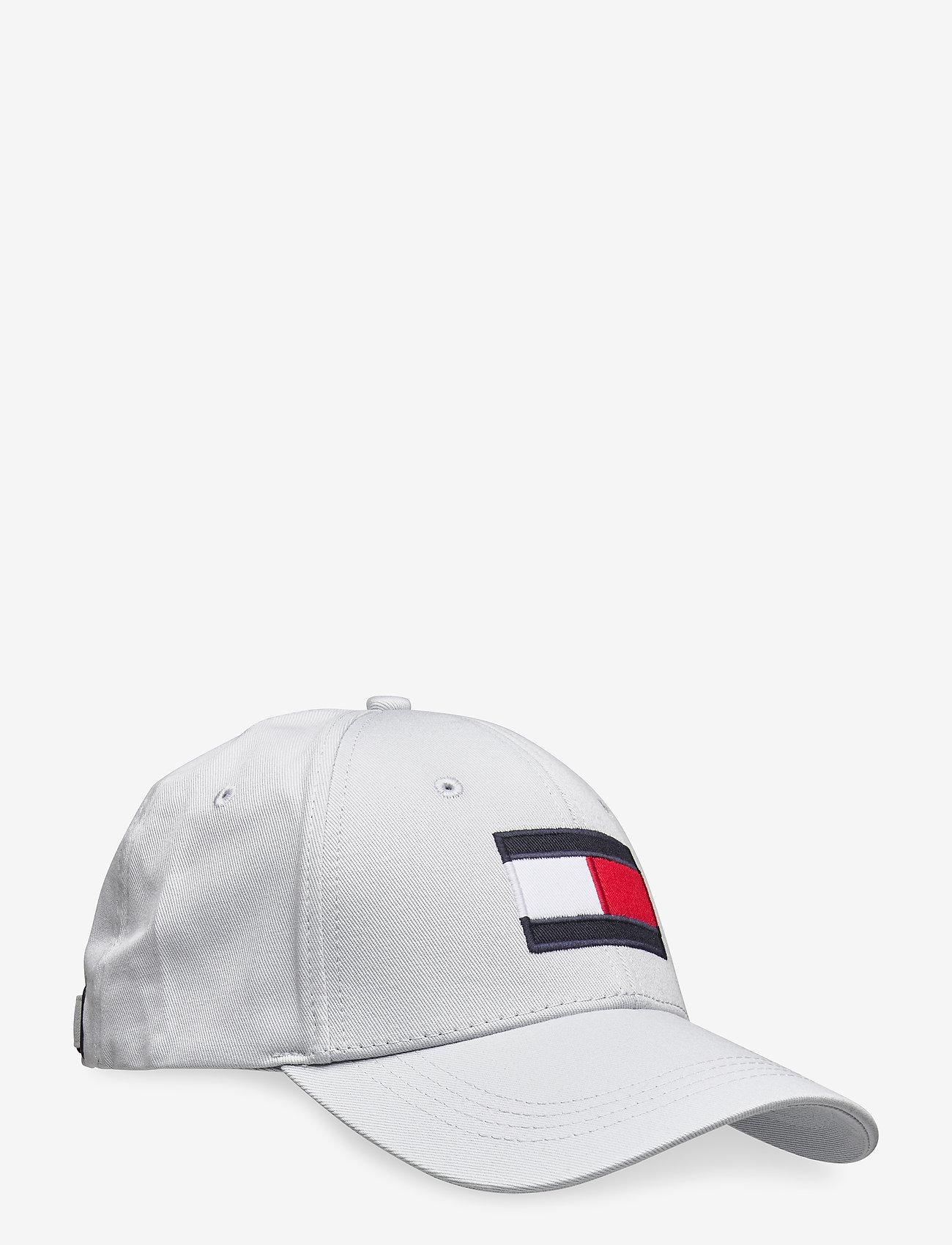 Tommy Hilfiger - BIG FLAG CAP - casquettes - city grey - 0
