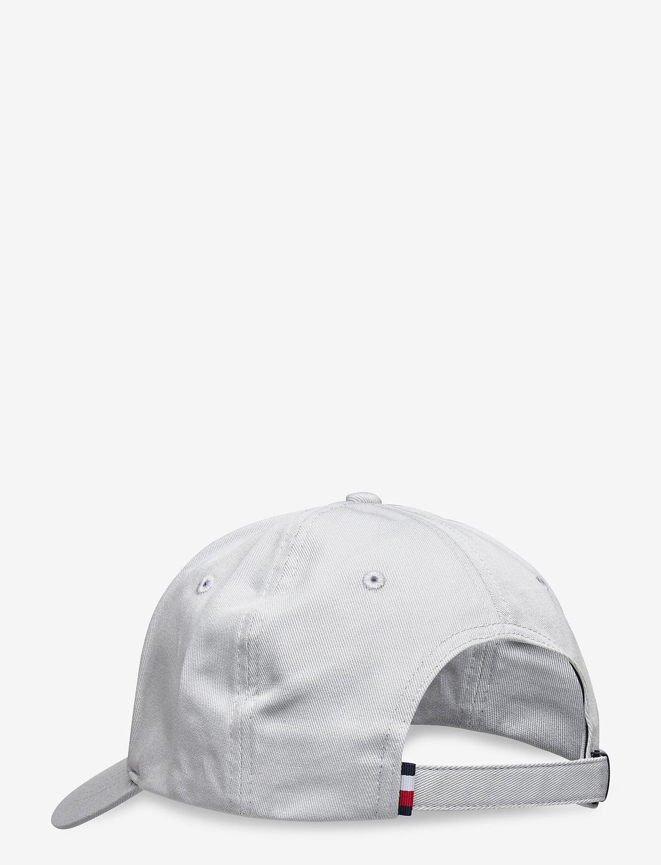 Tommy Hilfiger - BIG FLAG CAP - casquettes - city grey - 1