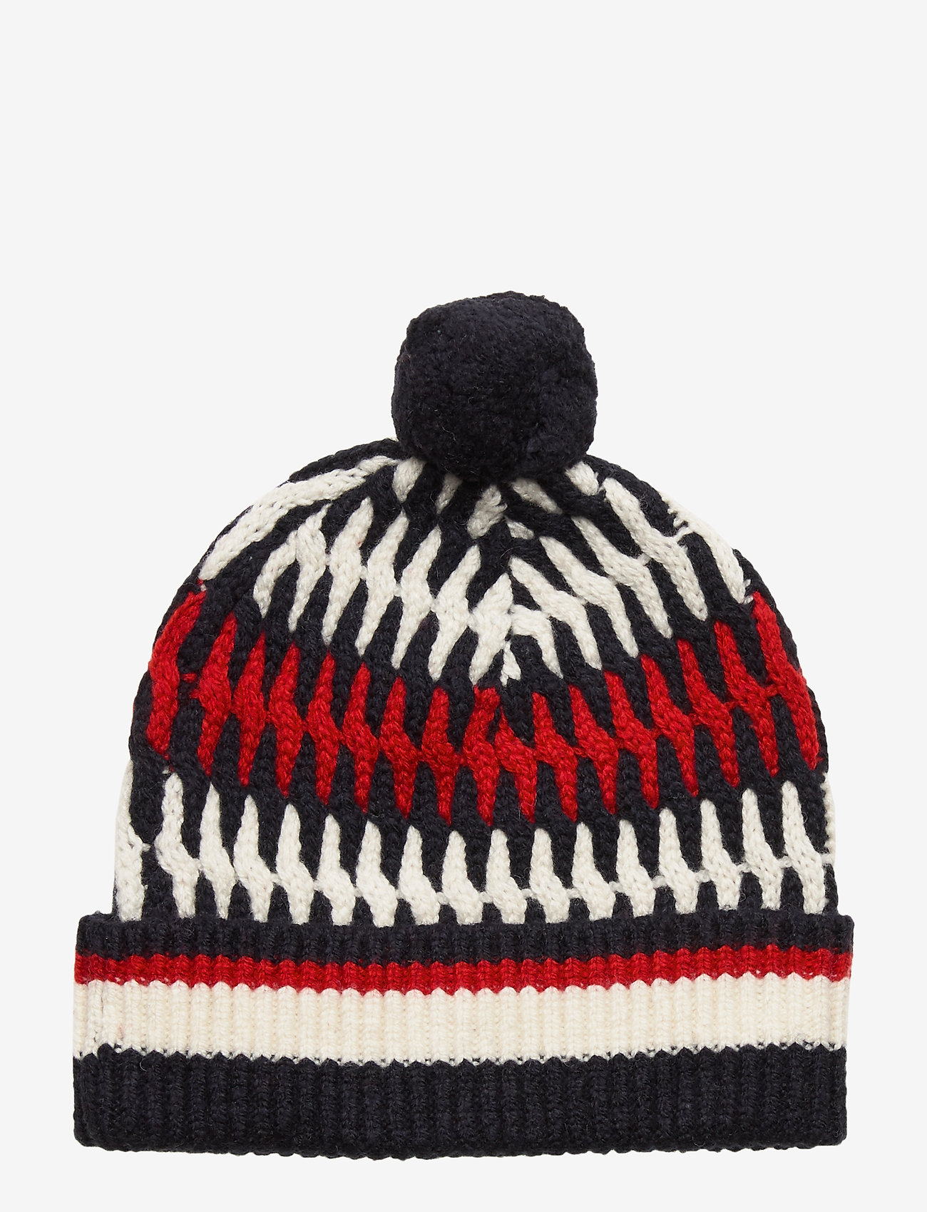 Tommy Hilfiger - TAILORED CABLE BEANI - bonnet - corporate - 1