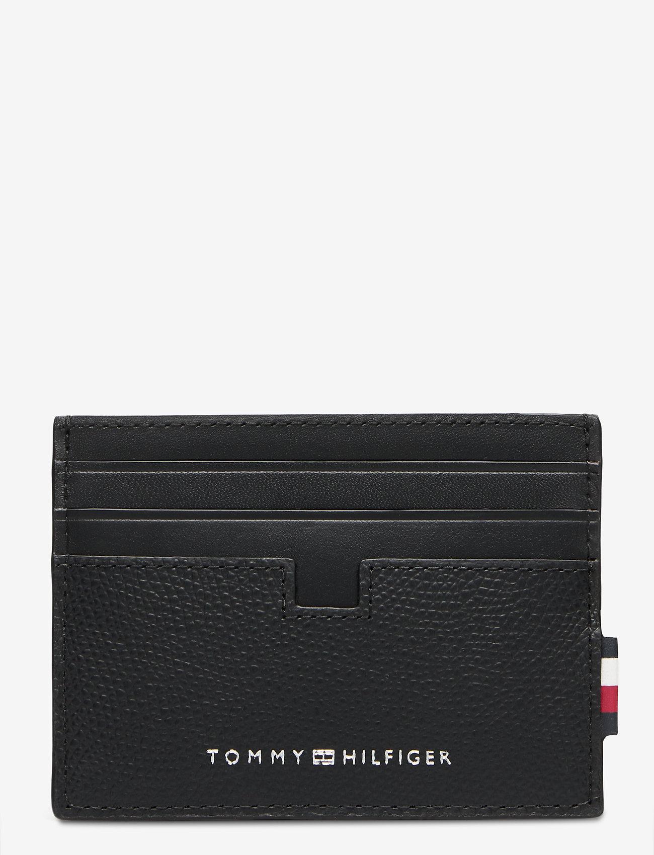 Tommy Hilfiger - BUSINESS LEATHER CC - cardholder - black - 0