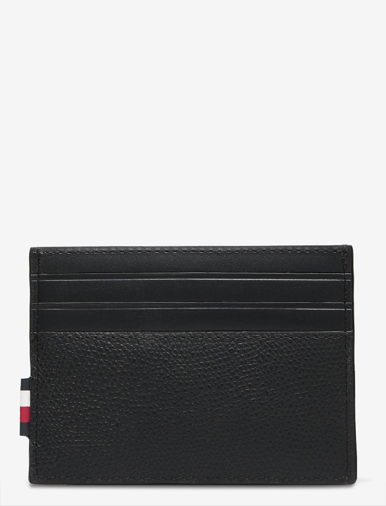 Tommy Hilfiger - BUSINESS LEATHER CC - cardholder - black - 1